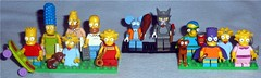 Lego - Simpsons Figures (Darth Ray) Tags: lego mini simpsons various figures