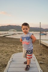 4th of July Baby (iamrtg) Tags: boy baby kids mother 4th july son american fourth