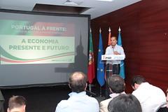 """Ciclo de Conferências """"A Economia Presente e Futuro"""""""