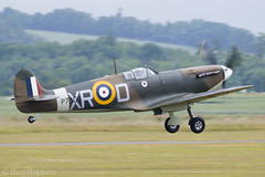 Spitfire (Huw Hopkins LRPS Photography) Tags: summer june museum war ia duxford imperial spitfire cambridgeshire mk 1a airfield iwm cambs supermarine 2015 ar213 mk1a mkia p7308