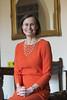 Headteacher Mrs Owens (St George's, Ascot) Tags: school orange st dress head ascot georges headmistress