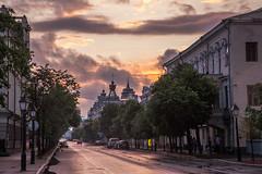 Pink sunset in Kazan (Oleg.A) Tags: kazan russia tatarstan respublikatatarstan sunset evening