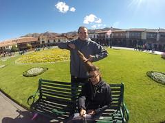 Photo de 14h - Ca y est, on coupe (Cusco, Pérou) - 06.07.2014