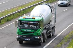 WU15UBK - Andrew Hopkins (TT TRUCK PHOTOS) Tags: cement mixer andrew tt hopkins scania bourton a303