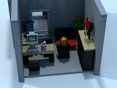 Project F.A.S. W.I.P. Battalion Chiefs Office (The Driving Dutchman) Tags: project fire office lego chief first ambulance medical firetruck company aid human doctor firedept firebrigade povray fas battalion ldd recourse medicaldepartment psap medicaldept publicsafetyansweringpoint ldd2povray