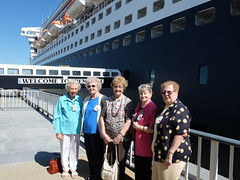 Bethanie aboard QM2 (BethanieGroup) Tags: aged care qm2