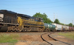 hudson meet 010 (Fan-T) Tags: ohio train ns hudson coal meet 8100 nkp 553