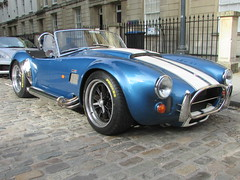 Dax Tojeiro AC Cobra Shelby 427 C19BRA (Andrew 2.8i) Tags: bristol breakfast meet queen queens square avenue drivers club ac cobra replica kit car kitcar american muscle classic shelby 427 dax tojeiro blue