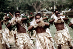 27-532 (ndpa / s. lundeen, archivist) Tags: costumes man color men film field festival fiji 35mm outside outdoors dance costume clothing dancers dancing song traditional nick group performance culture makeup dancer skirt suva southpacific warriors tradition 1970s facepaint 27 performers 1972 skirts grassskirt dewolf oceania pacificartsfestival pacificislands youngmen grassskirts festivalofpacificarts southpacificislands nickdewolf photographbynickdewolf festpac pacificislandculture southpacificfestival reel27 southpacificartsfestival southpacificfestivalofarts fiji72