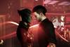Kyle and Samara (vanaithilien) Tags: mass effect samara shepard