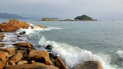 Praia de Palmas. (Idalecio Santos) Tags: idaleciosantos natureza governadorcelsoramos santacatarina praiadepalmas oceanoatlantico verão