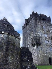 Watch Tower and Tower House (AntyDiluvian) Tags: ireland tour vagabond driftwood connemara countygalway castle towerhouse aughnanurecastle ruins watchtower walls