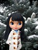 Snow (queenbee2zz) Tags: januarysgirl calendargirlphotochallenge beatrice allgoldinone goldie blythe takara