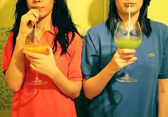 (Cristiana Carosella) Tags: bathroom juice colors lacoste women