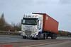 DAF XF 106 'IPL Haulage' reg HK14 DTO (erfmike51) Tags: dafxf106 truck artic containerhaulage euro6 lorry iplhaulage