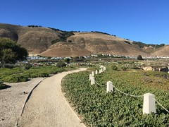 Pismo Beach Hills (Mister.Marken) Tags: path sky hill pismobeach california summer iphoneography iphone6plus