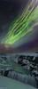 Gullfoss turned green (Ron Jansen - EyeSeeLight Photography) Tags: iceland gullfoss golden green waterfall corona northern lights aurora borealis night snow winter cold water stars