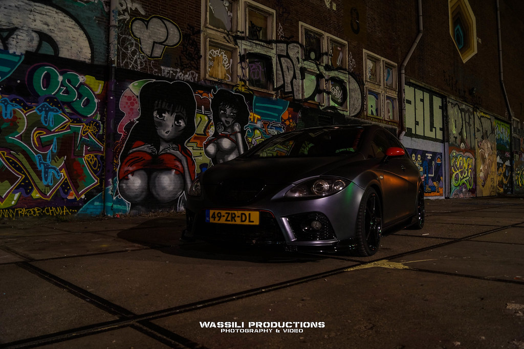 Nightshoot 30 12 2016 (Wassili Productions) Tags: Audi Seat Leon A3