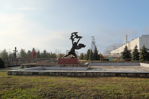 "Prometheus Statue - Chernobyl Nuclear Power Plant • <a style=""font-size:0.8em;"" href=""http://www.flickr.com/photos/148075881@N07/31912997244/"" target=""_blank"">View on Flickr</a>"