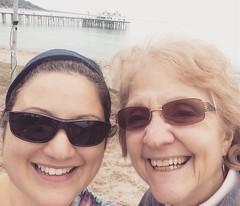 Malibu with Ma (KFiabane) Tags: krista mom malibu california pier
