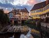 Colmar, France (m o n k o) Tags: architecture france boat sky nikond7000 sigma1750 travel trip street europe