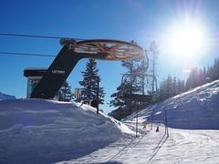 #SkiBig3 in Banff, Alberta, Rocky Mountains, Canada (Creativelena) Tags: ski skiing banff mybanff alberta travel rockymountains snow ice powder mountnorquay mountrundle view nature nationalpark history resort skitour skibig3 mtnorquay winter experience adventure photography canada explorecanada sunshine