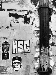 """Create what you love"" #sticker #stickers #sanfrancisco #blackandwhite"