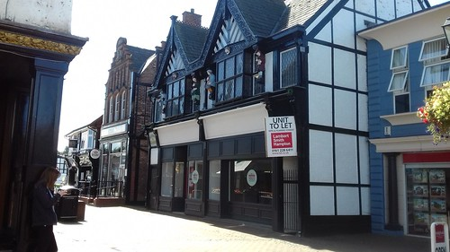 21-23 High Street, Northwich – now The Salty Dog, was Mellor Braggins