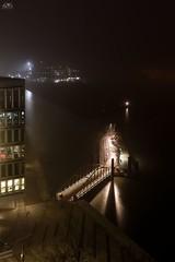 Fähranleger der Elbphilharmonie Hamburg (stein.anthony) Tags: cityscape city hafencity hafen nachtaufnahme langzeitbelichtung lights licht longexposure hamburg elbe fähre