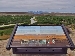 Big Bend National Park (Jasperdo) Tags: bigbendnationalpark bigbend nationalpark nationalparkservice nps texas riograndevillagenaturetrail riogranderiver river sign exhibit