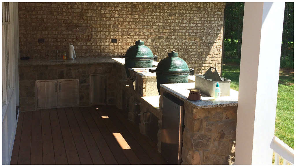 Custom Outdoor Kitchen. Signal Mtn. Tn.