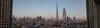 Burj Khalifa Panorama 01 (::darren::) Tags: panorama skyline sunrise mall town dubai cityscape united uae down emirates khalifa arab biggest largest burj tallest