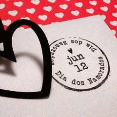 Carimbo Dia dos Namorados (Projetos em Papis :: BH :: Brasil) Tags: love amor stamp envelope corao namorados carimbo diadosnamorados