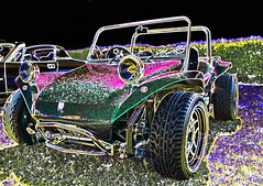 Glitter Beach Buggy! (lillie934) Tags: car glitter photoshop cool nikon bright awesome sigma vehicle colourful beachbuggy infocus highquality sigma175028