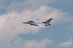 U.S. Air Force Thunderbirds solo