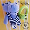 Maria Martinez Amigurumi: Hipopotamo Verano (Maria Martinez Dukan) Tags: summer crochet verano hippo amigurumi hipopótamo amigurumidolls muñecosdecrochet zoomigurumi mariamartinezamigurumi kamlimpatterns