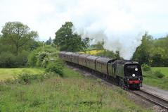 K&WVR 34092 @ Dixton (Sicco Dierdorp) Tags: railway cotswolds gloucestershire class steam valley worth gala sr cheltenham warwickshire westcountry gwr battleofbritain keighley kwvr toddington gotherington 34000 bulleid 34092 cityofwells gwsr lightpacific unrebuilt whinchcombe