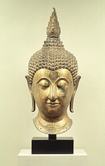 Head of Buddha (Ackland Art Museum, Chapel Hill, NC)