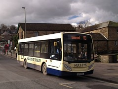 tn_HULLEYS EBVIRO 4 - IN BAKEWELL - FEB 17 - 1 (focus- transport) Tags: road travel bus public buses derbyshire transport group first tm bakewell hulleys