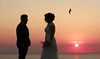MATRIMONIO NEL SALENTO (Aristide Mazzarella) Tags: wedding sunset portrait seagulls portraits canon bride tramonto photographer seagull sunsets spouses brides tramonti weddings ritratti ritratto salento matrimonio gabbiani gabbiano fotografo nel sposi aristide matrimoni nardò mazzarella