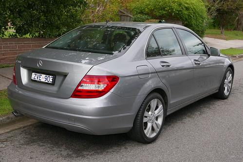 2013 Mercedes-Benz C 200 (W 204) sedan
