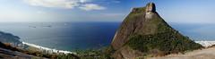 A esfinge (Marcos L. Araujo) Tags: sea brazil cliff rio brasil hill shore bonita pedra brsil canoas gavea soconrado estradadascanoas