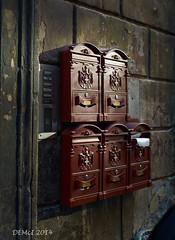 Roman postboxes (i-lenticularis) Tags: italy rome australia canberra act m9 summiluxm50v1 dec2014 holiday201415