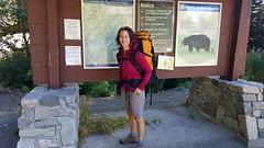 At the Trailhead (Canadian Veggie) Tags: camping emily bc hiking backcountry garibaldi elfinlakes trailhead garibaldiprovincialpark overnighthike explorebc