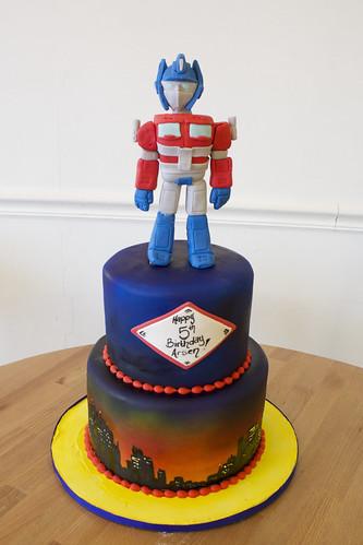 Transformers Skyline Birthday