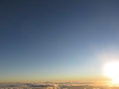 Nuvens (erivaniaery) Tags: sky sol azul bandeira day natureza dia paisagem céu mg vida pico da nuvens es amanhecer nascer