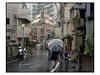Legs & Ombrella (Frederic Froument Frederik) Tags: pentax 67 67ii 6x7 105mm 24105 takumar kodak portra portra400nc tokyo shinjuku japan