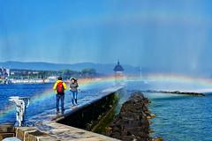 DSC03395 (stephL4) Tags: autofocus urban rainbow geneva sony3528