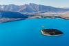 Lago Tekapo aérea (Andrés Guerrero) Tags: canterbury mountcooknationalpark newzealand nuevazelanda oceanía parquenacionaldelmontecook tekapo tekapolake lagotekapo laketekapo lake lago vistaaérea agua water azul blue