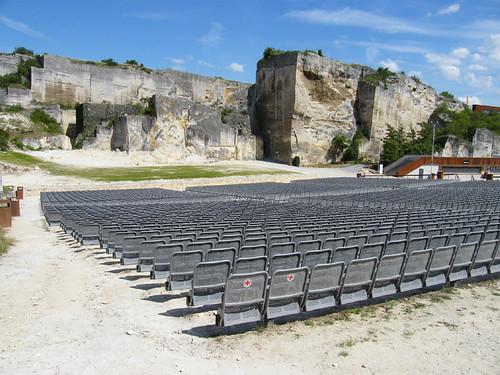 Szentmargitbányai kőfejtő, szabadtéri színpad